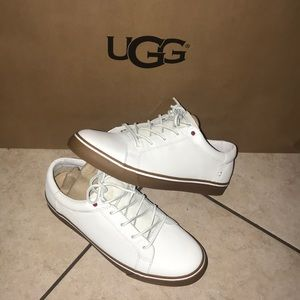 Men's UGG BROCK LUXE LEATHER LACE UP SNEAKER #10